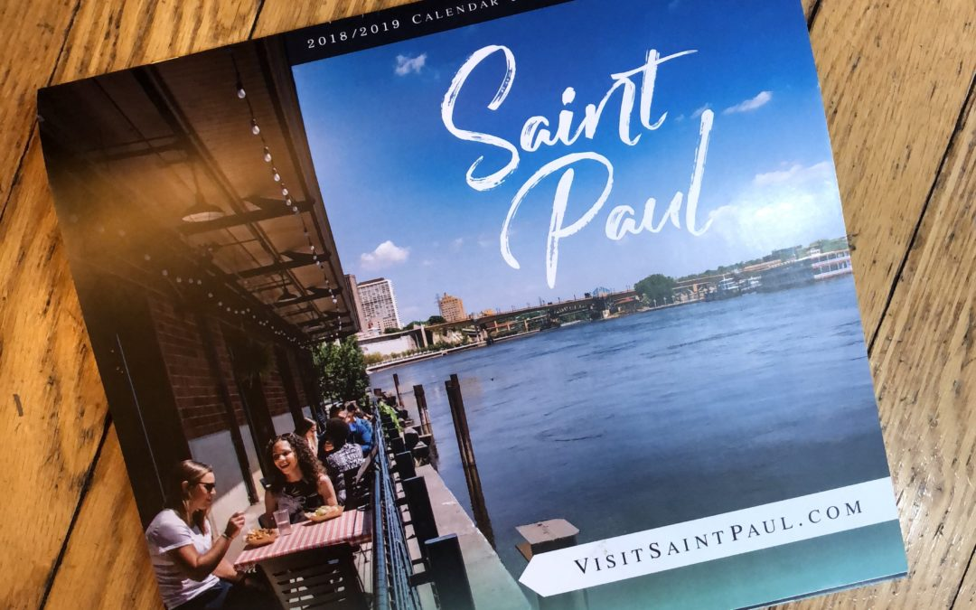 Visit Saint Paul Calendar Shoot